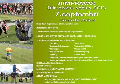Sporta diena afiša 2013