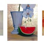 Jumpravas kultūras namā jauna gleznu izstāde