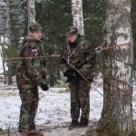 """Komanda """"Sudraba  bulta"""" izcīna 3.  vietu """"Jauno Rīgas sargu"""" finālā"""