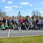 Jumpravas vidusskolā noritējušas skolēnu pašpārvalžu sporta spēles