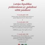 Latvijas Republikas 97. proklamēšanas gadadienai veltītie pasākumi Lielvārdes novadā