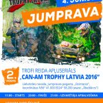 """JUMPRAVA TROPHY 2016"" - trofi reida apļuseriāla ""CanAm Trophy Latvia 2016"" 2.posms"