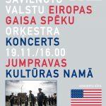 ASV Eiropas gaisa spēku orķestra koncerts Jumpravā