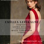 Senās mūzikas dziedātājas Emīlijas Leiškalnes solo koncerts