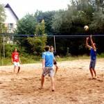 Foto atskats uz pludmales volejbola sacensībām