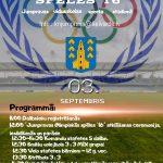 Jumpravas olimpiskās spēles'16 jau 3.septembrī!