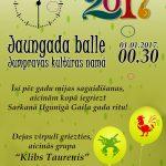 Jaungada sagaidīšnas balle Jumpravas kultūras namā