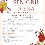 Jumpravā 3. oktobrī atzīmēs Starptautisko senioru dienu